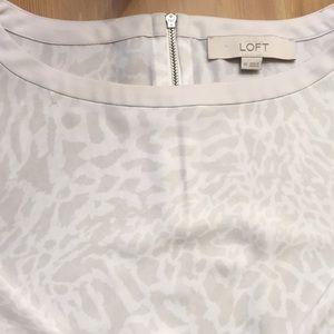 LOFT printed blouse